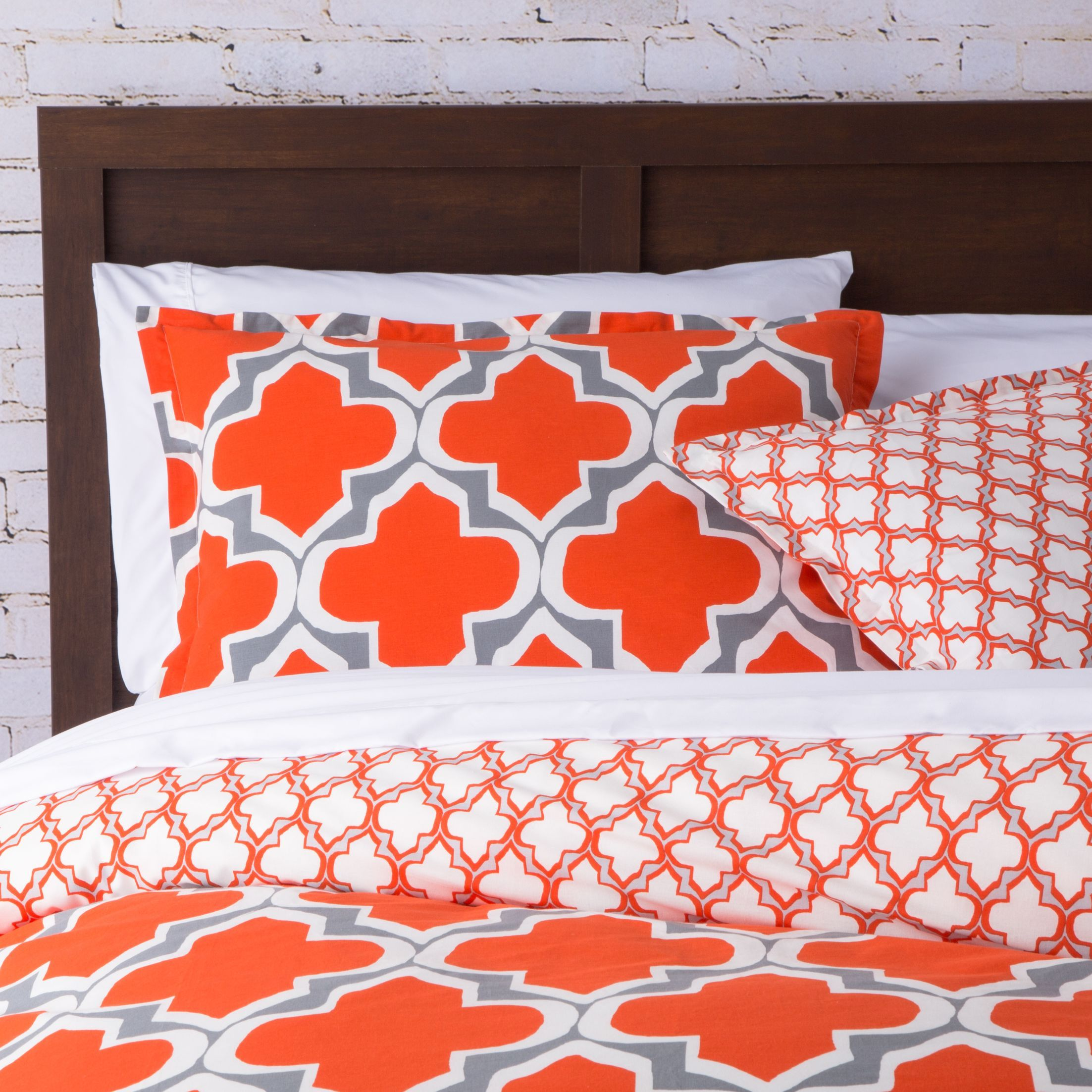 orange bedding mia printed com piece pin spice queen set microsuede comforter sherpa from plush