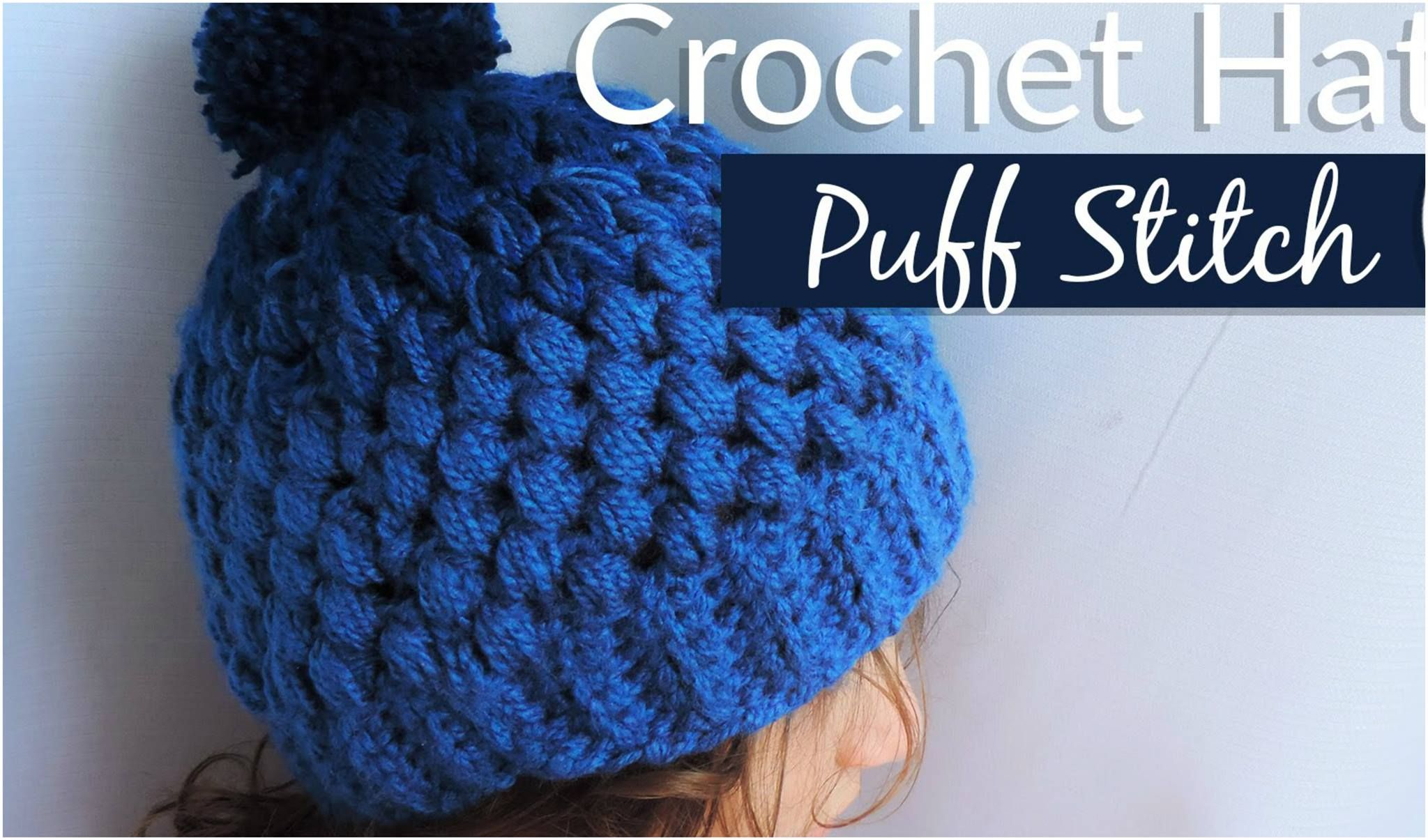 Puff Stitch Gradient Hat Free Crochet Pattern | Beautiful clothes ...