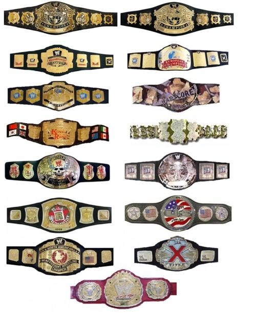 WWF WWE Elite Mattel Wrestling Figure titre Ceinture WWE Championnat