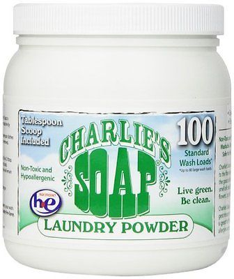 Charlie S Soap Eco Friendly Laundry Powder 2 64 Lbs 100 Loads
