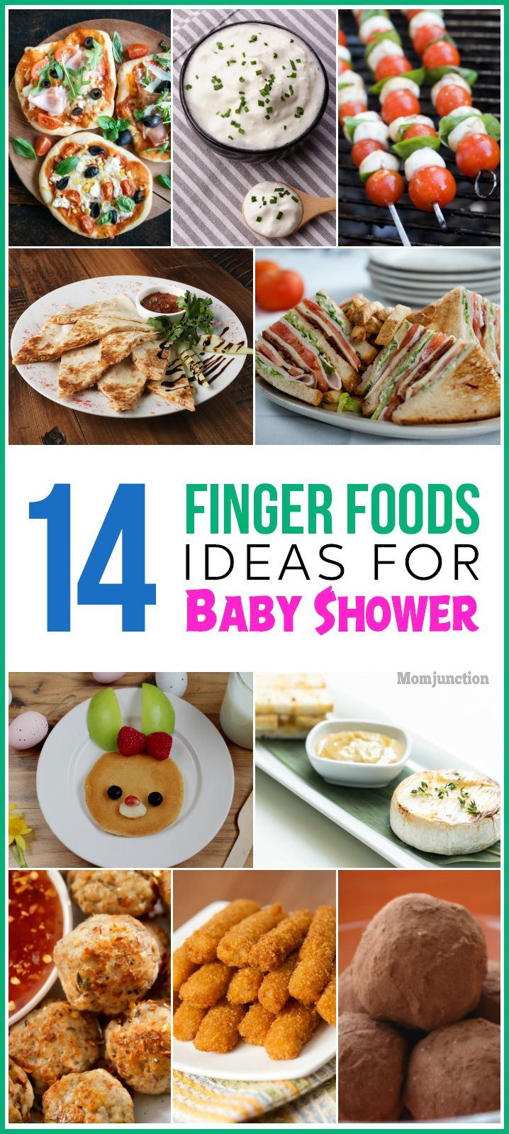 14 Tasty And Interesting Finger Foods For Baby Shower Baby