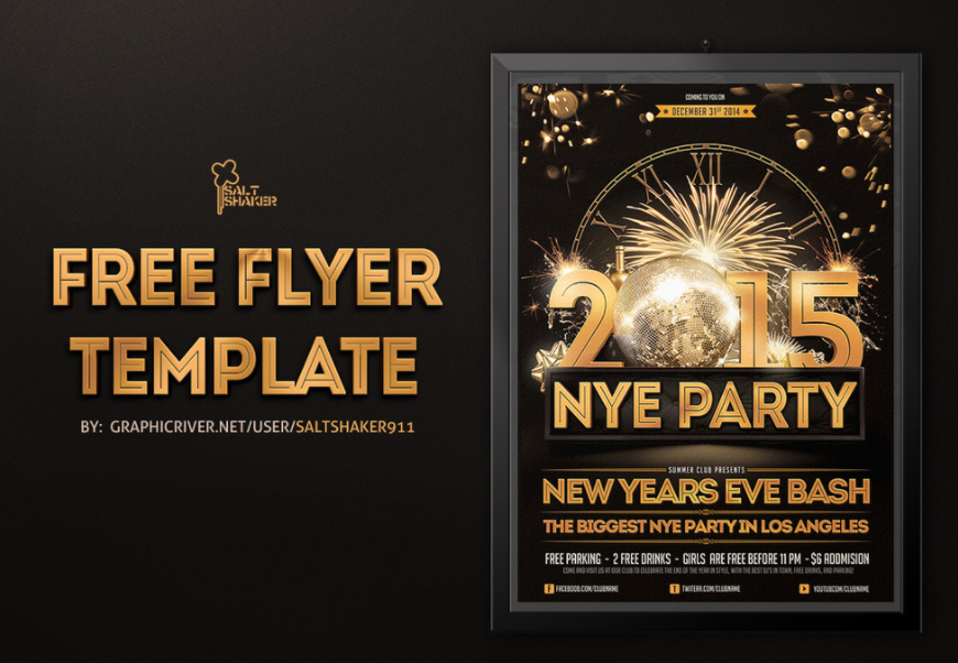 graphics jungle download new years flyer template