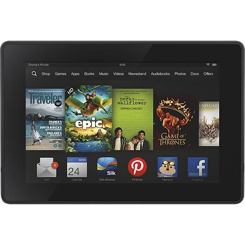 Kindle Fire HD 7 Inch Tablet with 16GB Memory (2nd Generation)