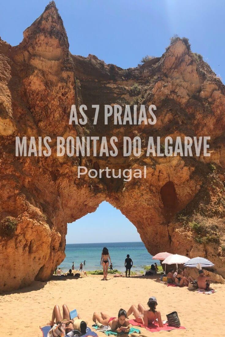Praias Do Algarve As 7 Melhores Mais Bonitas Com Mapa
