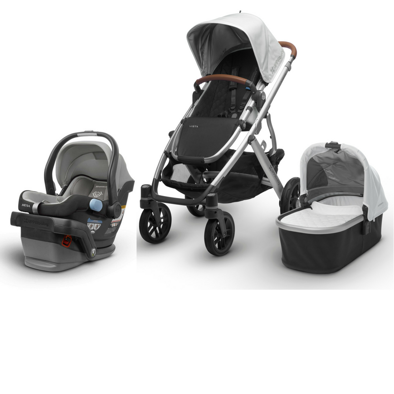 2020 UPPAbaby VISTA V2 and MESA Travel System Travel