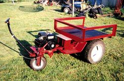 Gas Powered Wheelbarrow Built This Powered 3 Wheeled Cargo Carrier To Haul Firewood To The