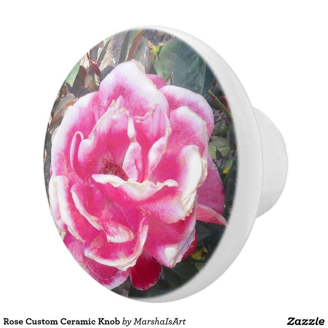 Rose Custom Ceramic Knob