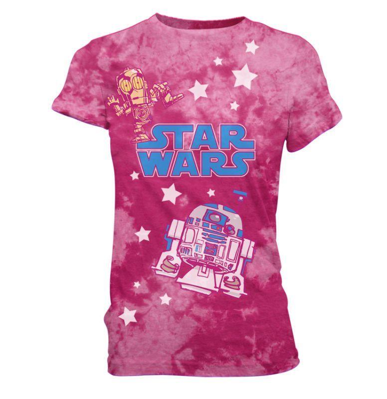 Pink Junior Fit Star Wars T-Shirt