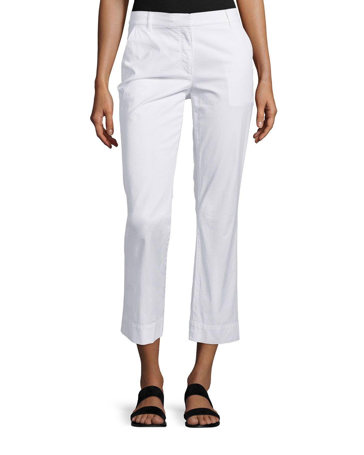 slim-fit trousers - White Theory Best Store To Get Online eLAtw6