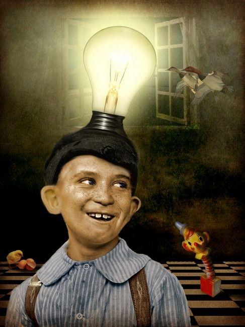 Epiphany! | Surrealism painting, Masonic art, Art