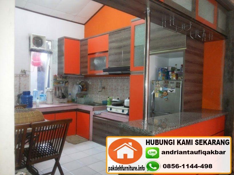 Jual Custom Kitchen Set Mini Bar Minimalis Bogor Furniture Bar Minimalis