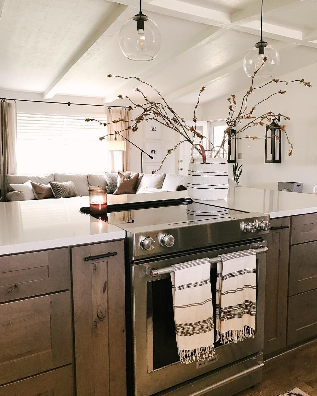 Kitchen Trends Knotty Alder Kitchen Cabinets: Knotty Alder Cabinets Grey Stained Wood Cabinets