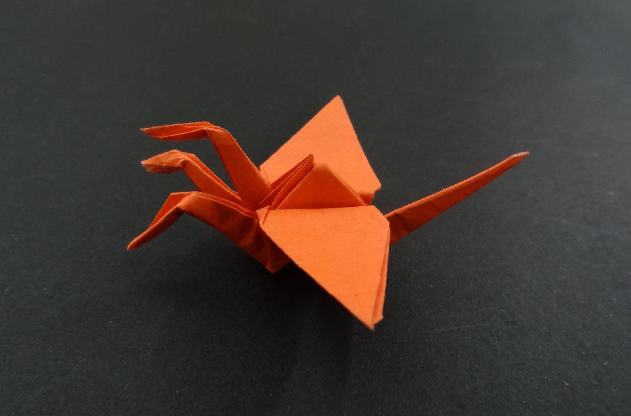 Origami crane tutorial how to fold 3 headed origami crane origami crane tutorial how to fold 3 headed origami crane jeuxipadfo Choice Image
