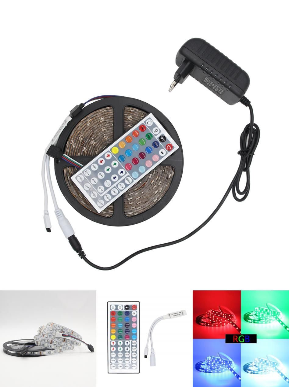 Led Light Strips With Remote Visit To Buy Beilai Rgb Led Strip 5050 Smd 60Ledm Not Waterproof