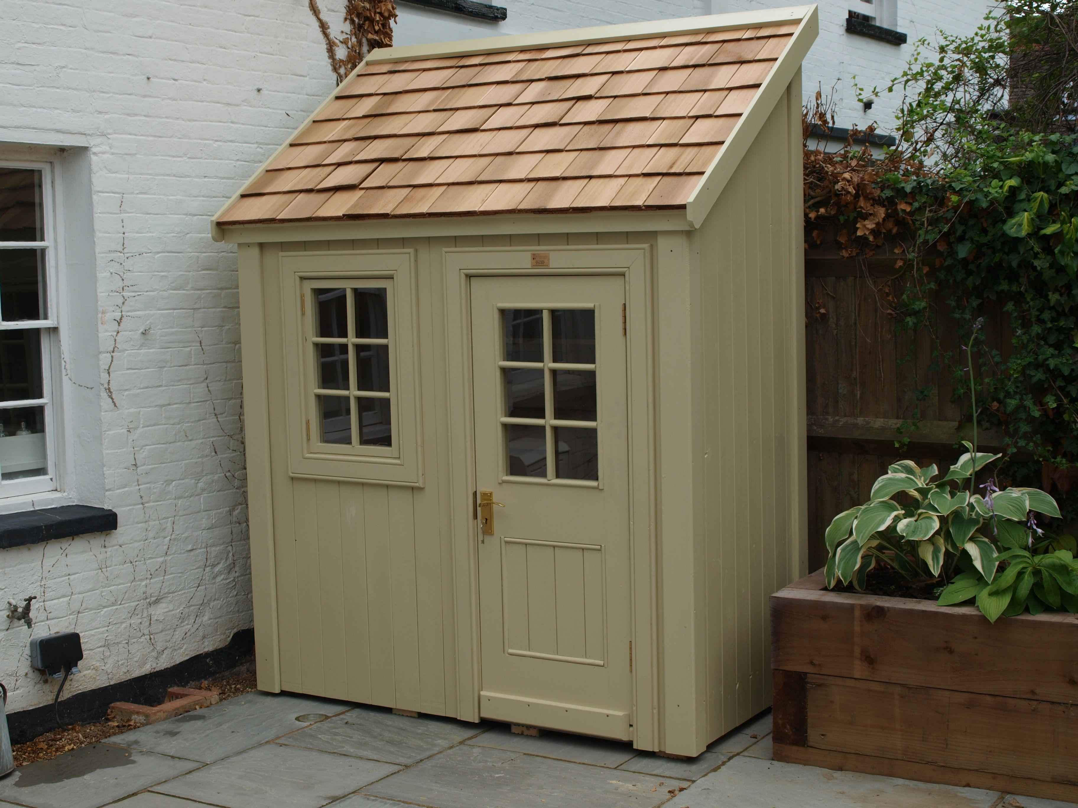 Best A Bespoke Potting Shed With Cedar Shingle Roof And Cedar Shingle Roof Roof Shingles Cedar Roof 640 x 480