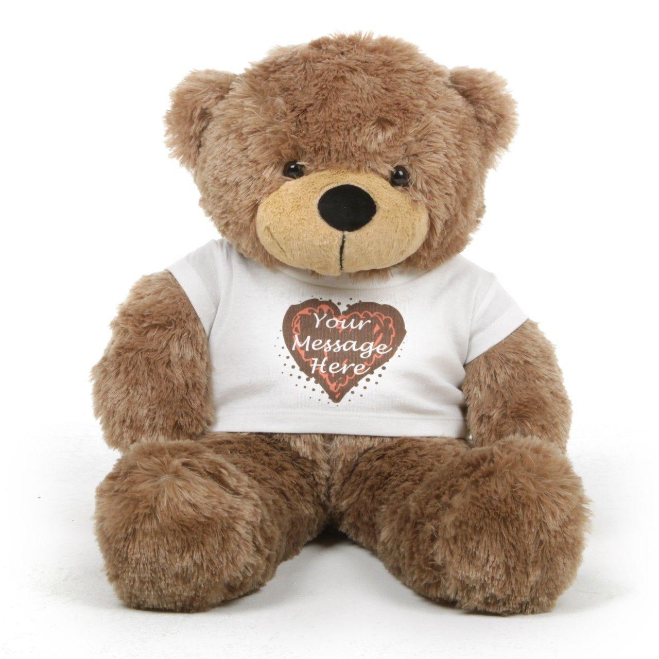 Teddy Bear T Shirt Personalised