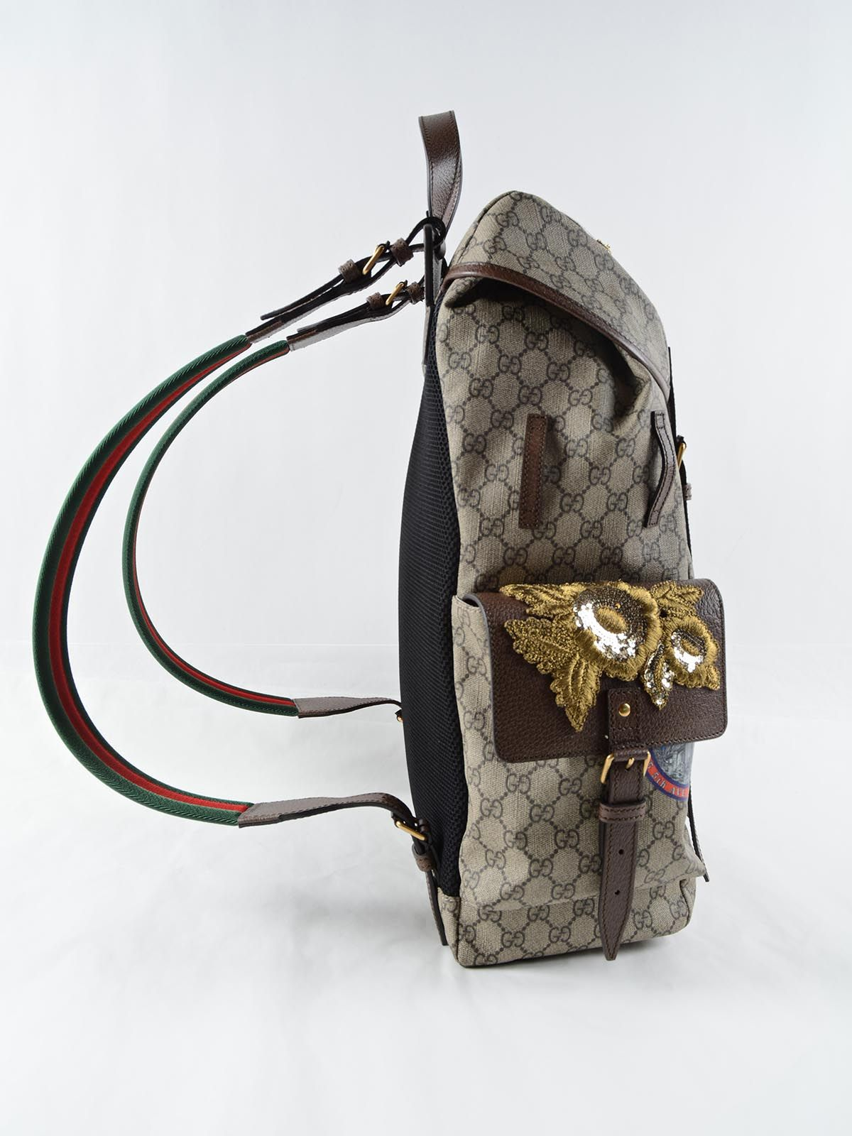 GUCCI.-backpack patch show | Spinnaker Boutique