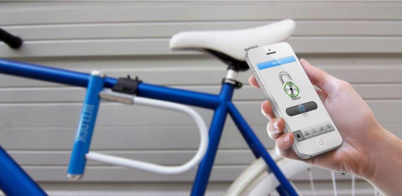 Bitlock un candado sin llaves fiets innovatie