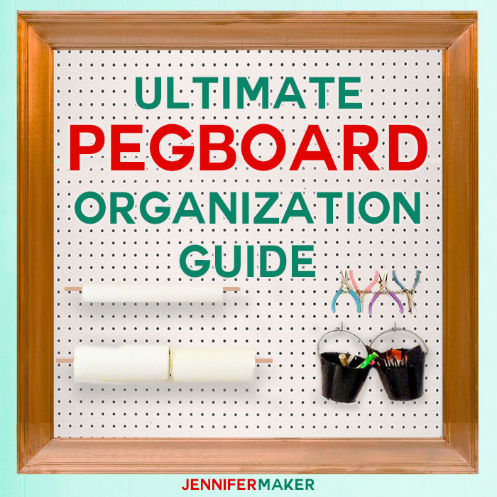 Ultimate Pegboard Organization Guide for Craft Rooms images