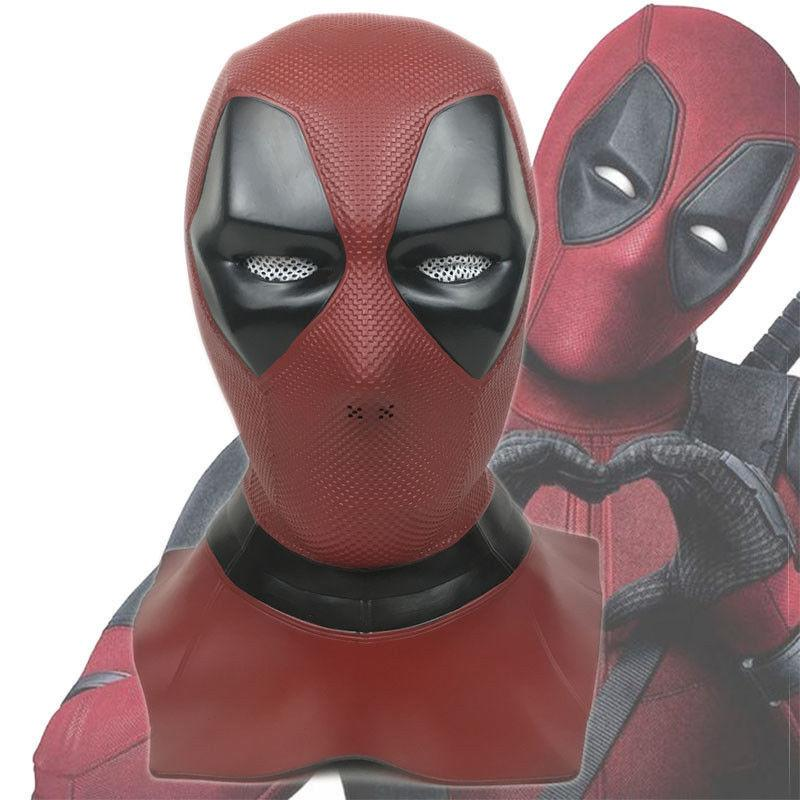 New Deadpool 2 Mask Cosplay XMen Full Face Latex Helmet Halloween Mask Props New