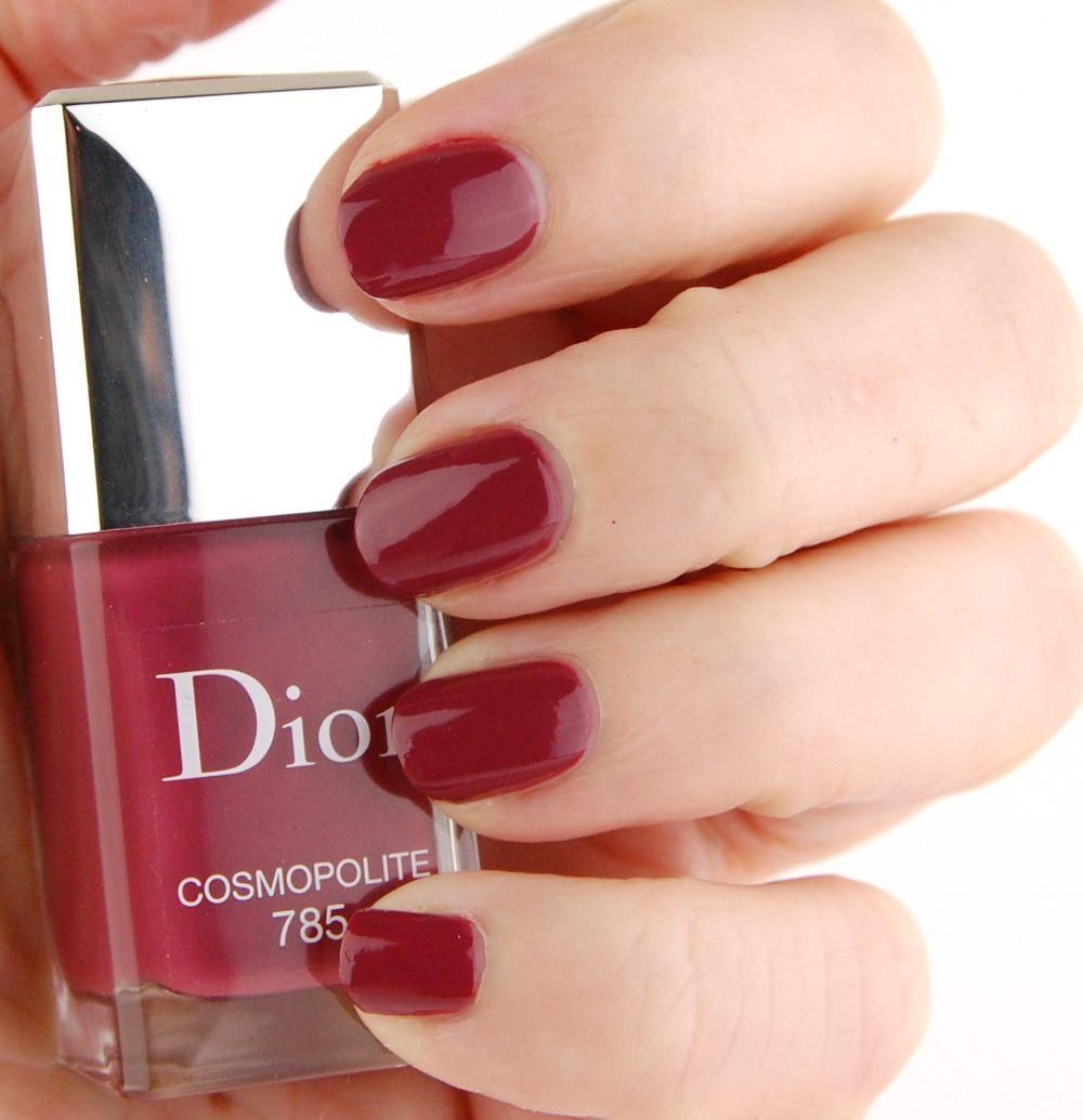 Dior Fall 2015 Nail Polish in 001 Miroir, 701 Metropolis, 785...
