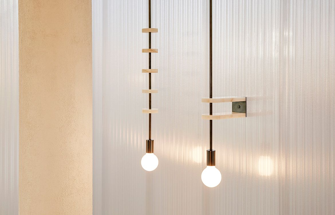 Volker Haug Makes Illuminating Works Of Art | Wall mounted lamps