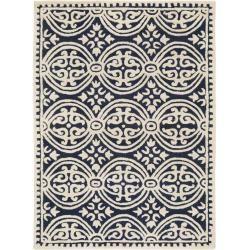 Reduced wool carpets -  benuta Naturals wool carpet Windsor dark blue 200×300 cm – natural fiber carpet from Wollebenuta - #carpets #diy100 #diybracelets #diycandles #diydco #diydecorao #diydecorations #diyfacile #diyideen #diykids #diykitchen #diymbel #diyroom #dollartreediy #reduced #Wool