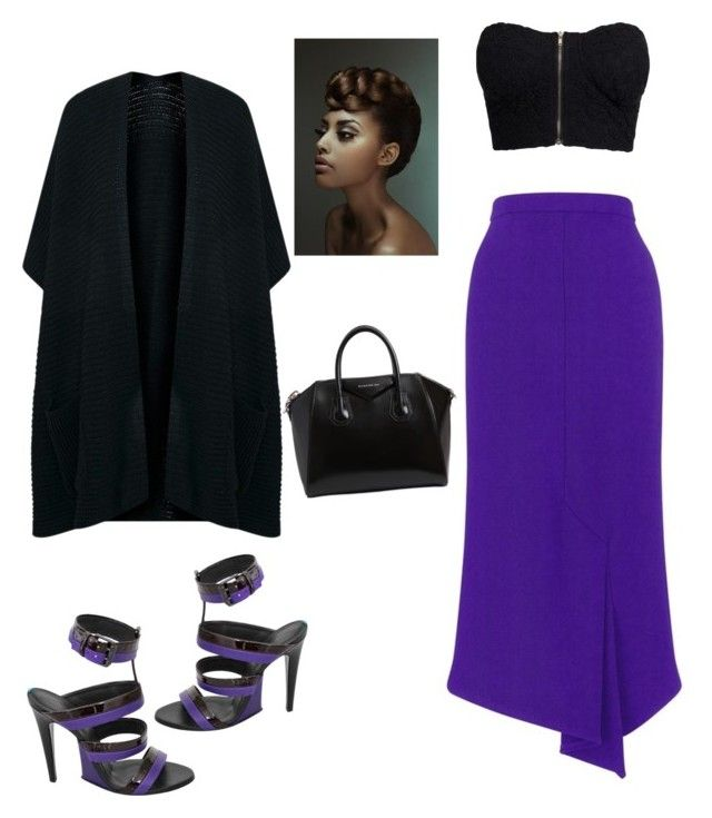 """Untitled #242"" by angiekmm2 on Polyvore featuring Bottega Veneta, Roland Mouret, NLY Trend and Givenchy"