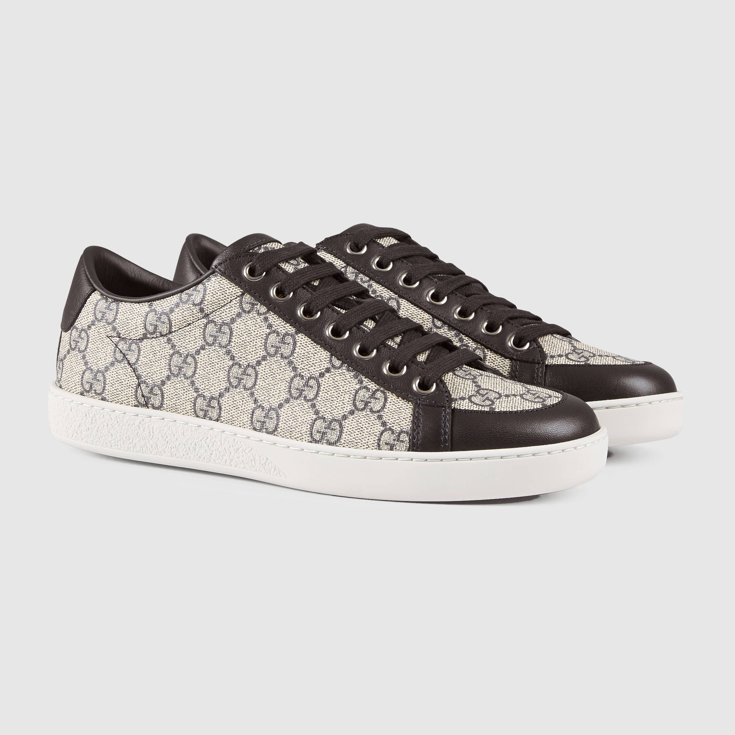 1d45737d59b Gucci Women - Brooklyn GG Supreme canvas sneaker - 323793KHN809760 ...