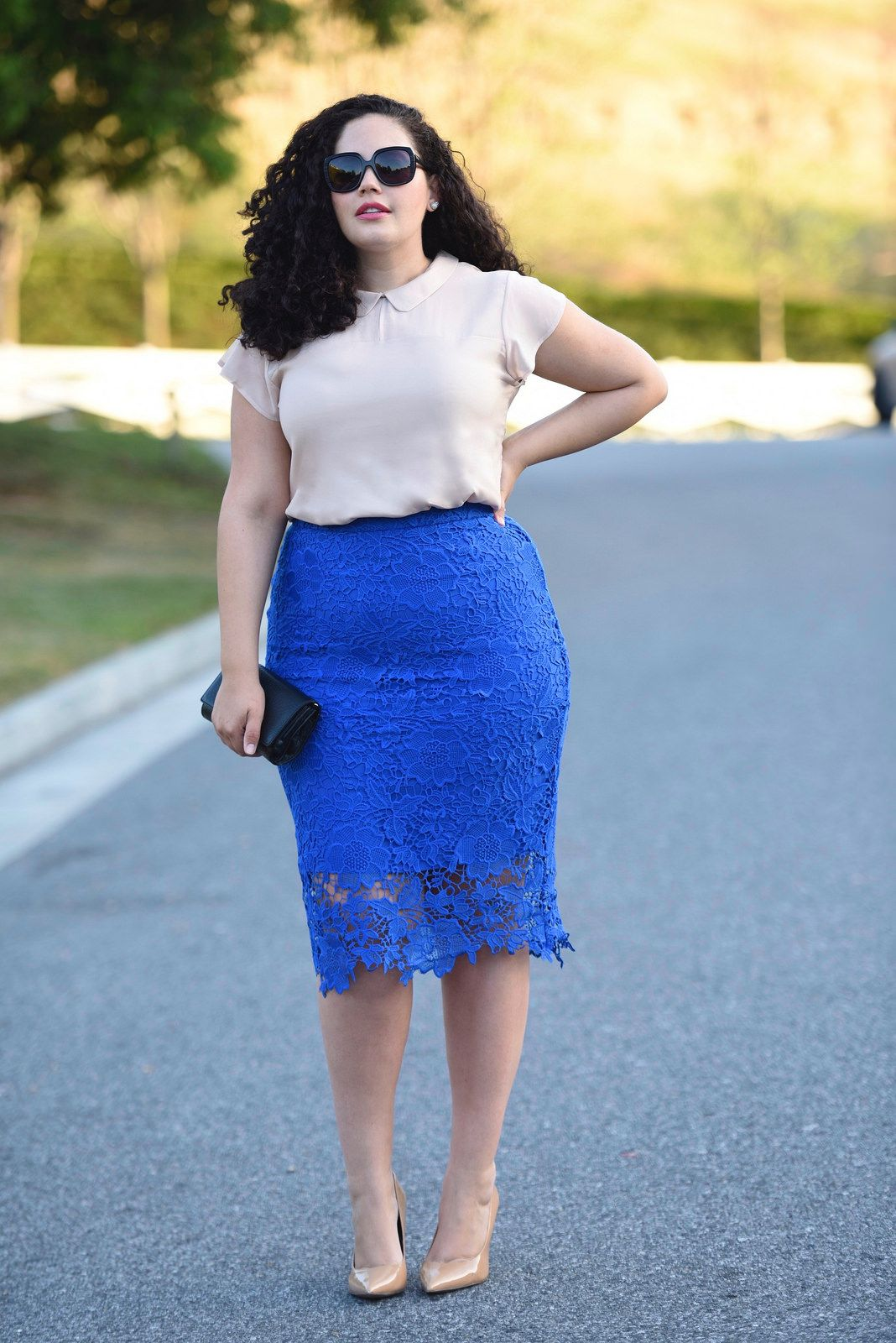 Long straight skirt: styles, features of choice. With what to wear a long skirt