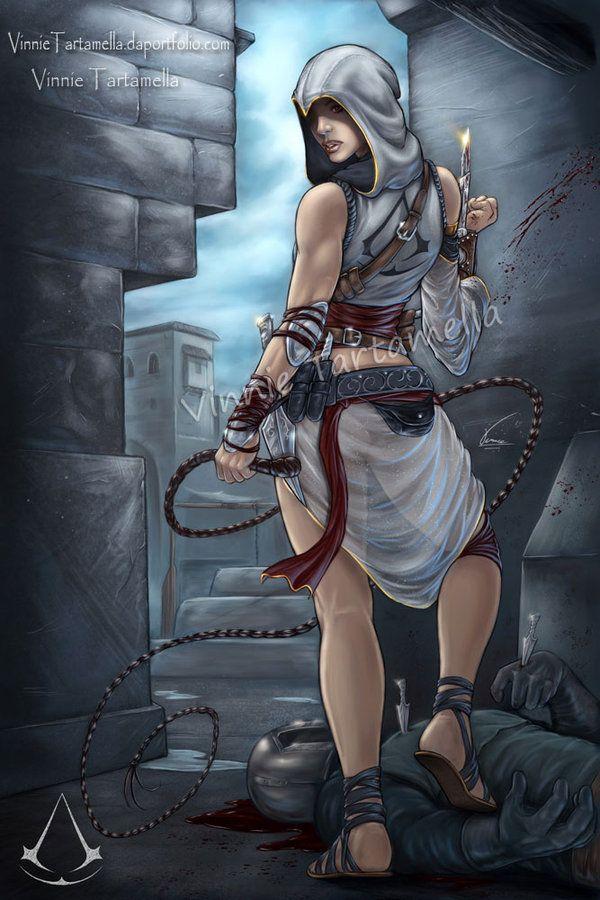 Assassin Girl Assassin S Creed Assassins Creed Artwork Assassins Creed Art