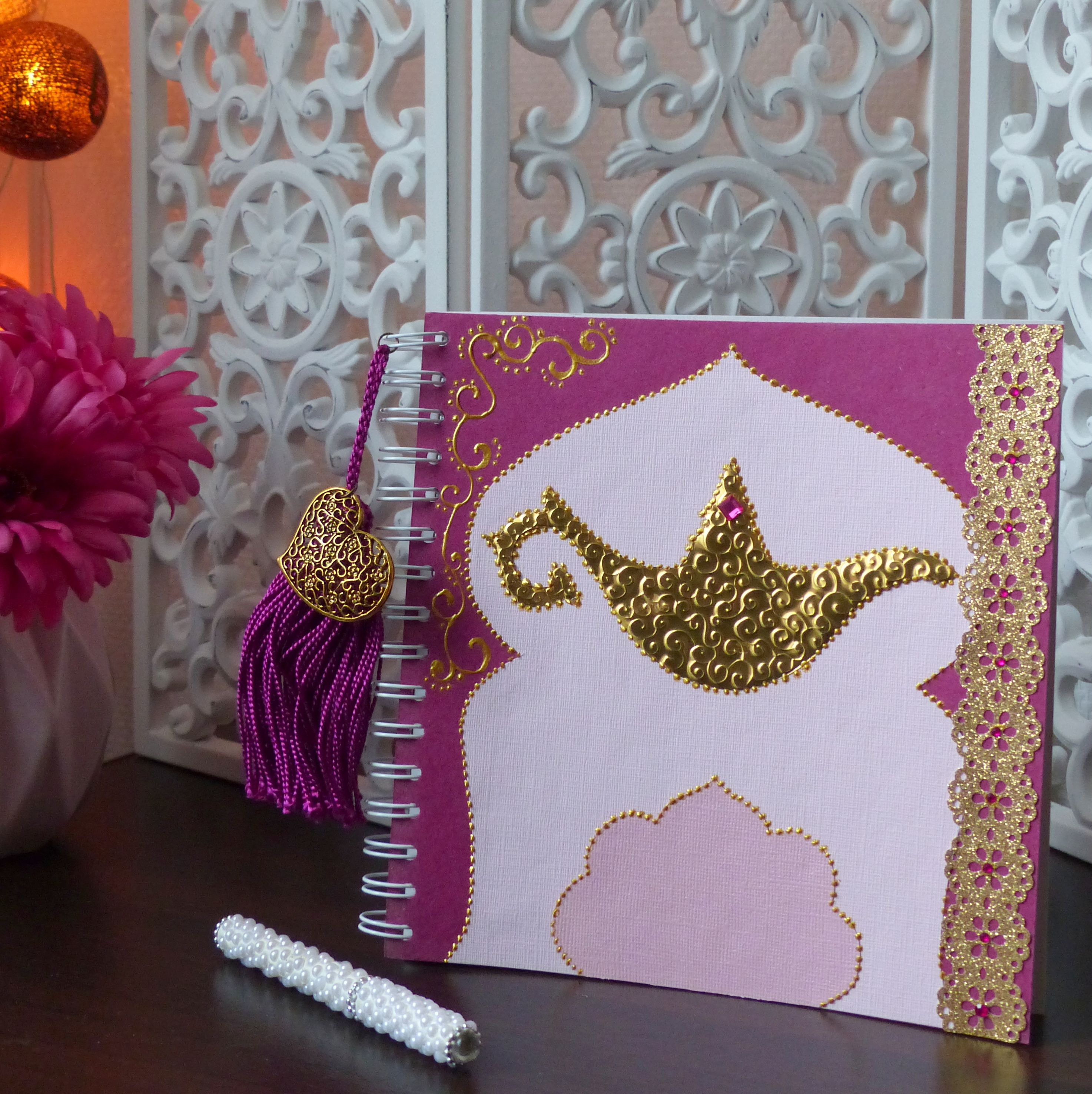 Livre Dor Oriental Mariage Oriental Moroccan Wedding Decoration Diy Arabian