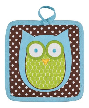Loving this Hoot Stuff Pot Mitt on #zulily! #zulilyfinds