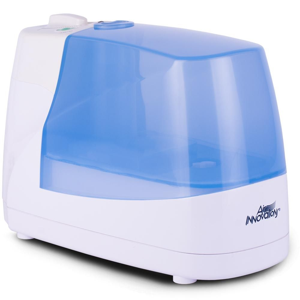 Air Innovations Cool Mist Ultrasonic Humidifier With Night Light And Ionizer Humid02 Wht Ultrasonic Cool Mist Humidifier Night Light Humidifier