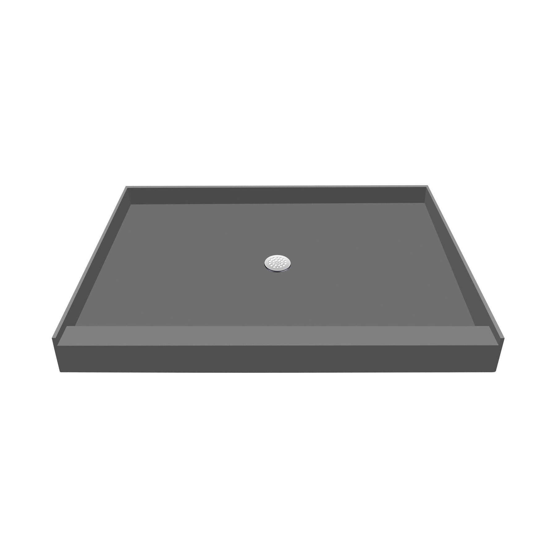 60 X 48 Single Threshold Shower Base With Drain Plate Shower