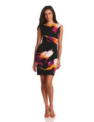 Suzi Chin Women's Side Drape Dress   Side drape dress ...