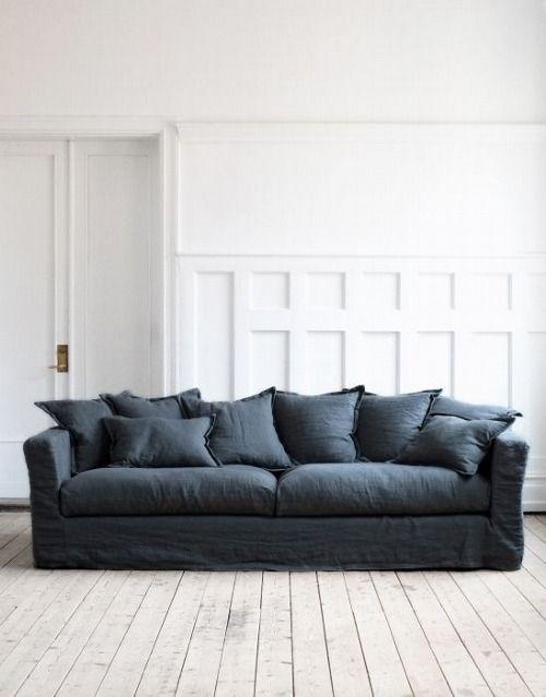 pin by valentina on home linen sofa linen couch denim sofa rh pinterest com