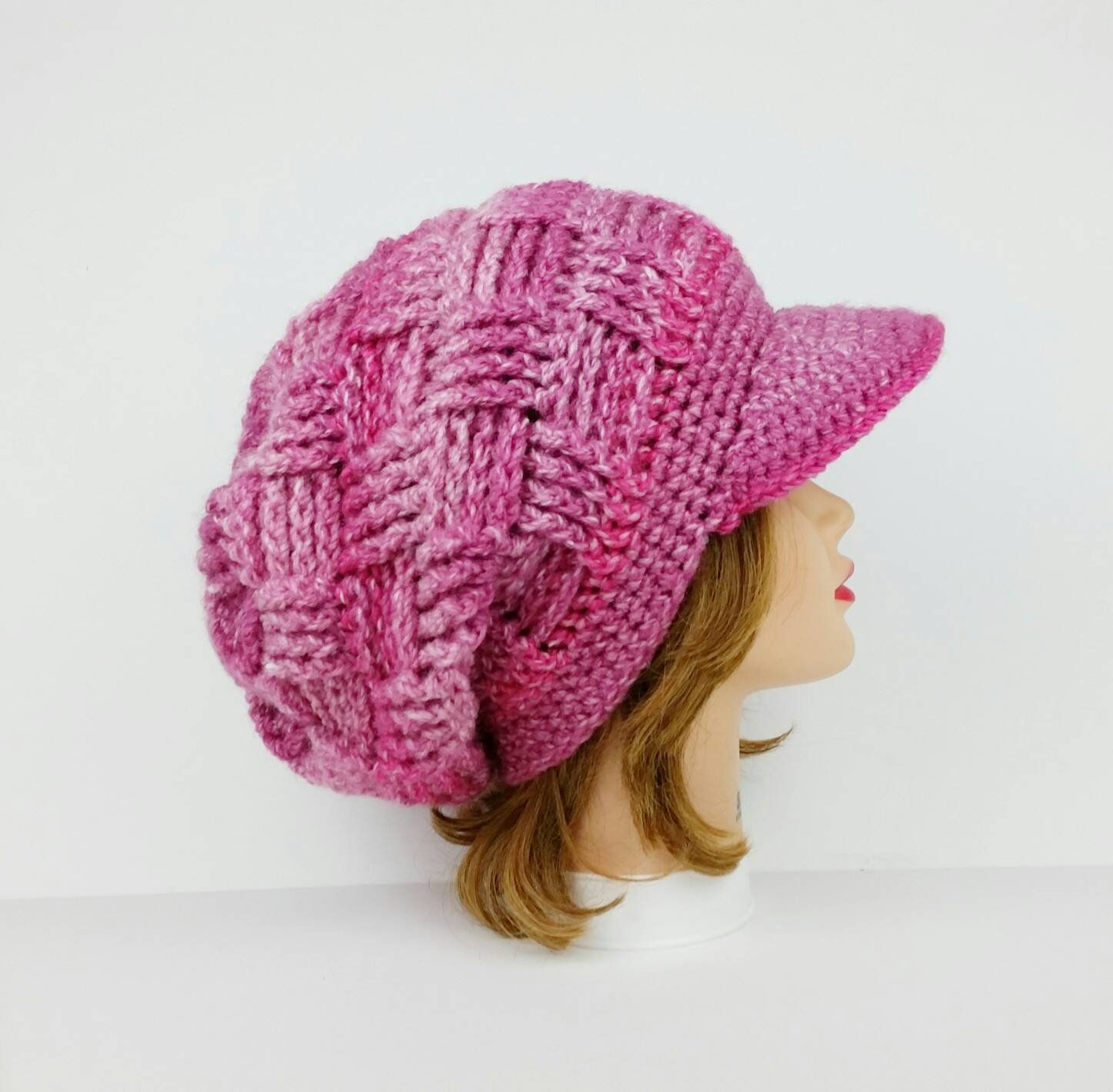 2095011744d Crochet Newsboy Hat