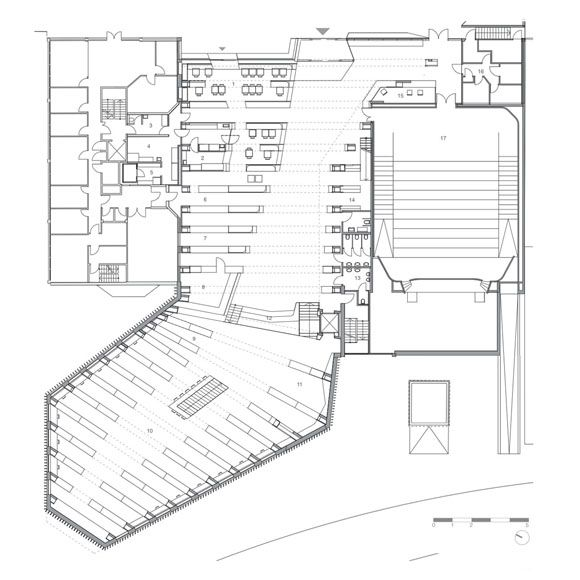 JA+U : Vennesla Library and Culture House by Helen & Hard