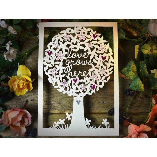 Paper panda papercut diy design template love grows here paper panda papercut diy design template love grows here maxwellsz