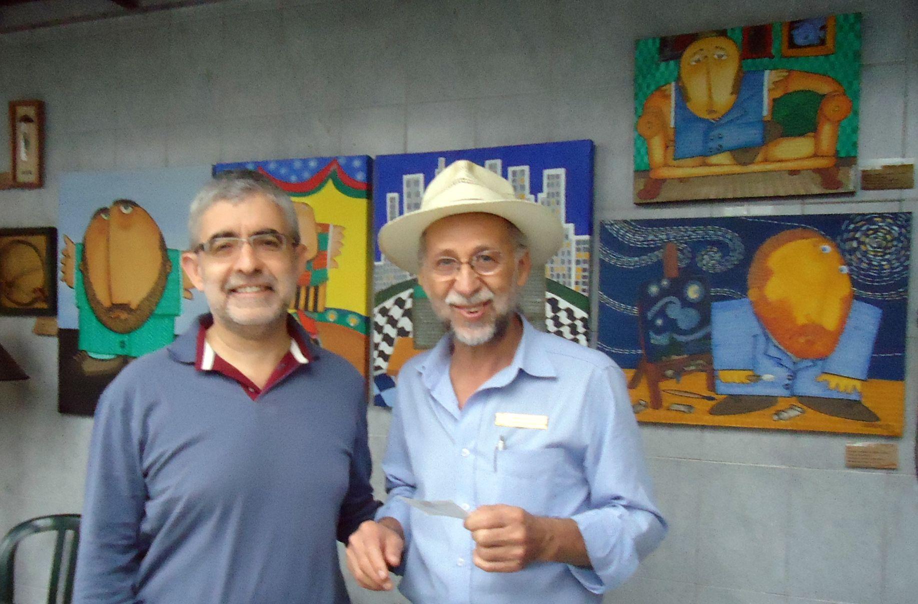 No Espaço Cultural com Alberico Rodrigues - junho/2014