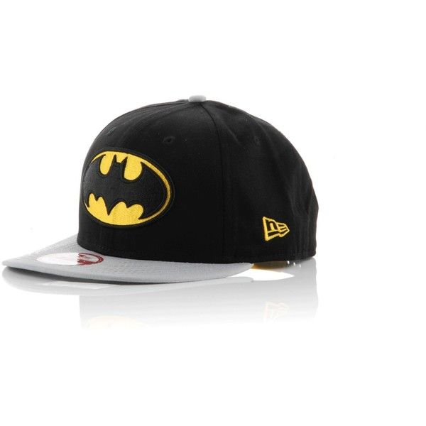 9ab82dfc New Era 9FIFTY Superhero Snapback Cap (24 AUD) ❤ liked on Polyvore  featuring men's fashion, men's accessories, men's hats, hats, batman,  accessories, ...
