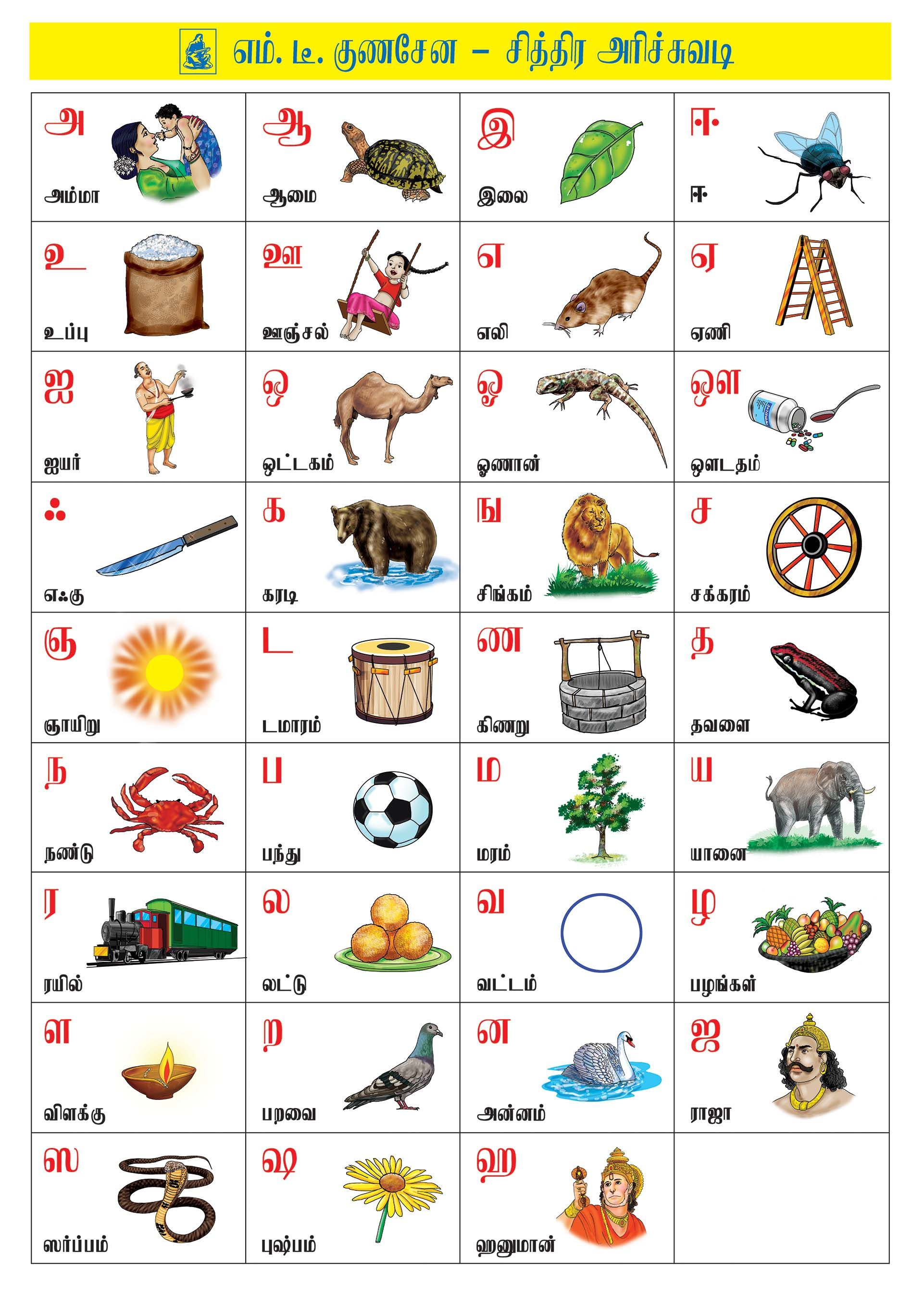 Pin by Bavani Suman on tamil Learning worksheets