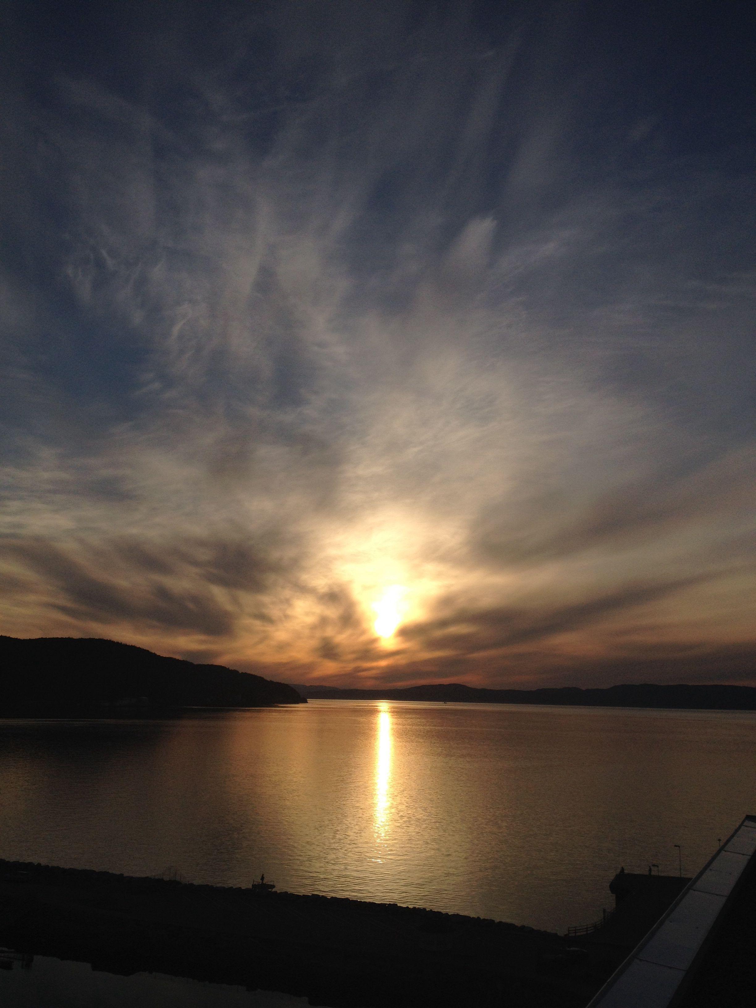 Amazing sunset. Stokkøya.