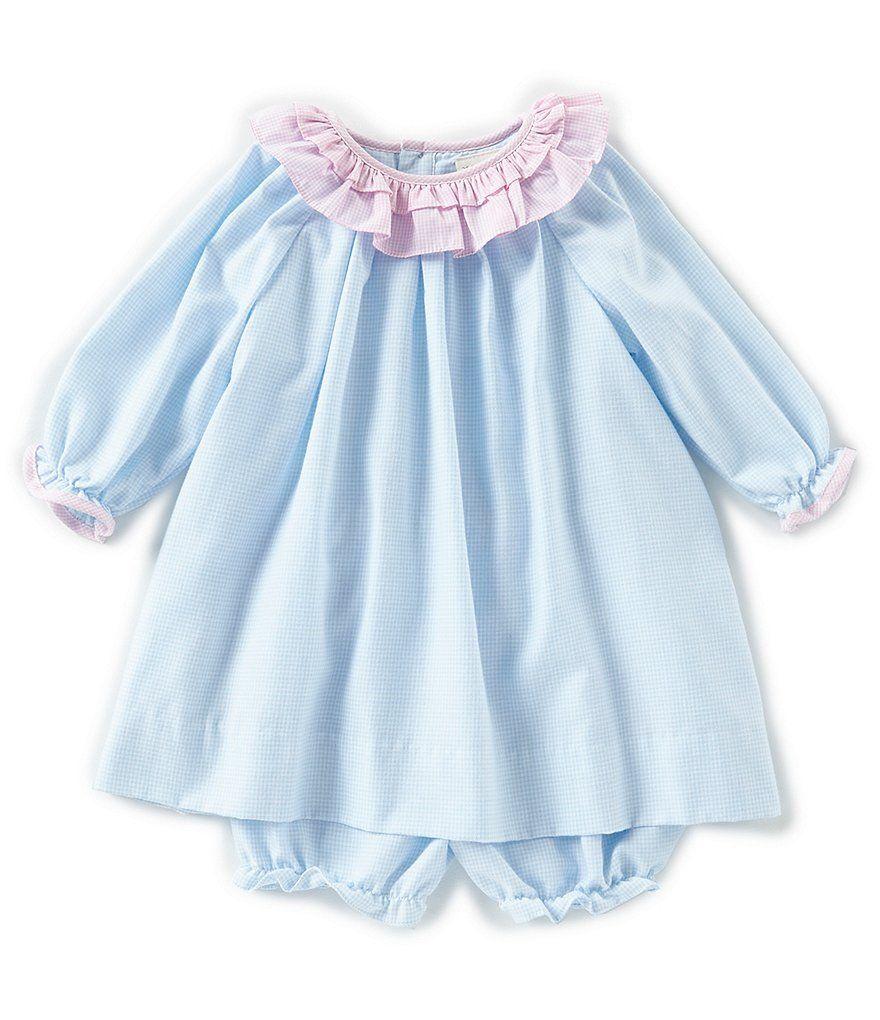 af4e1479d877 Petit Ami Baby Girls 3-24 Months Gingham Dress