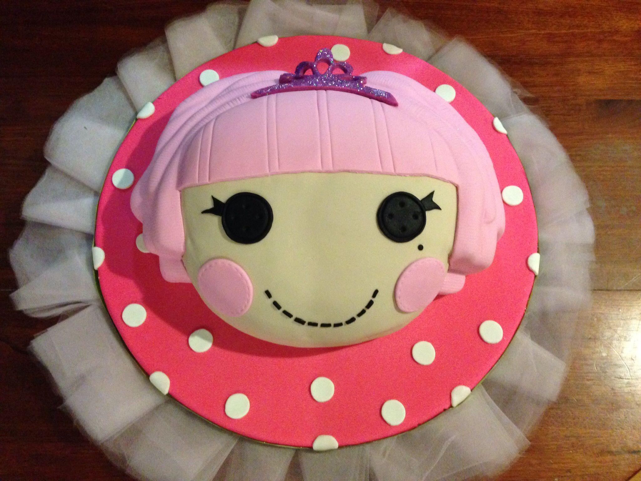 Lalaloopsy Jewel Sparkles Cake