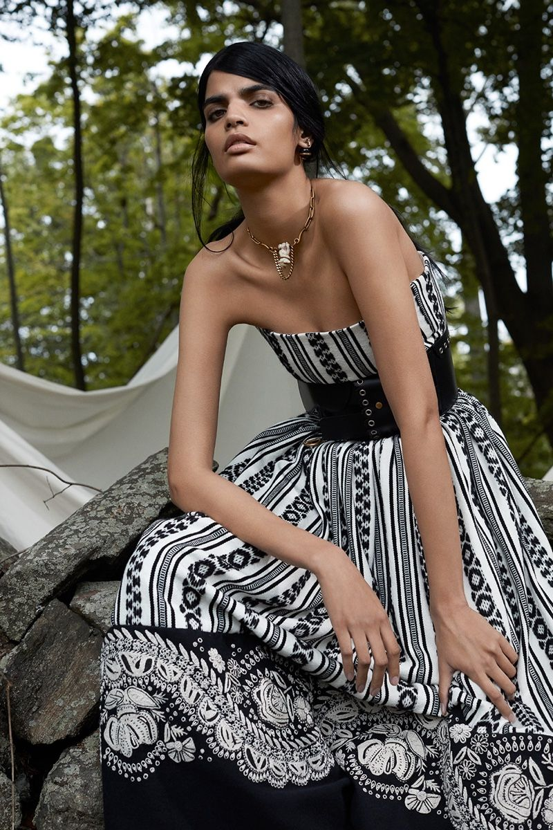 394101f1334 Bhumika Arora Wears Dior s Resort Line for Mojeh Magazine