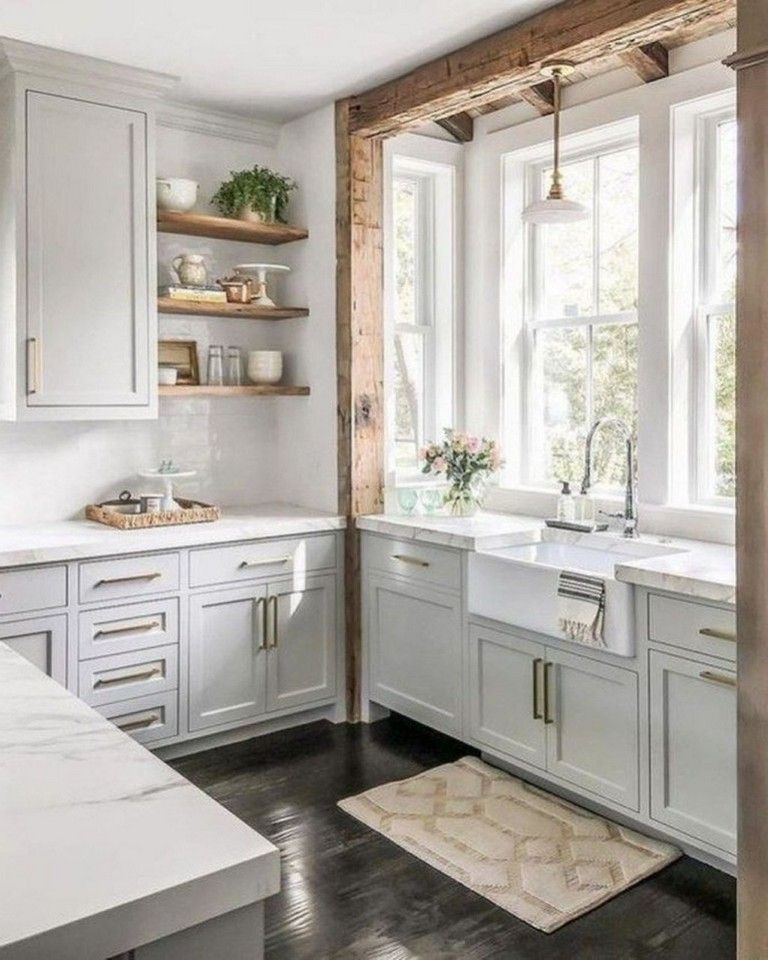 45 Amazing Kitchen Farmhouse Design And Decorating Ideas On A