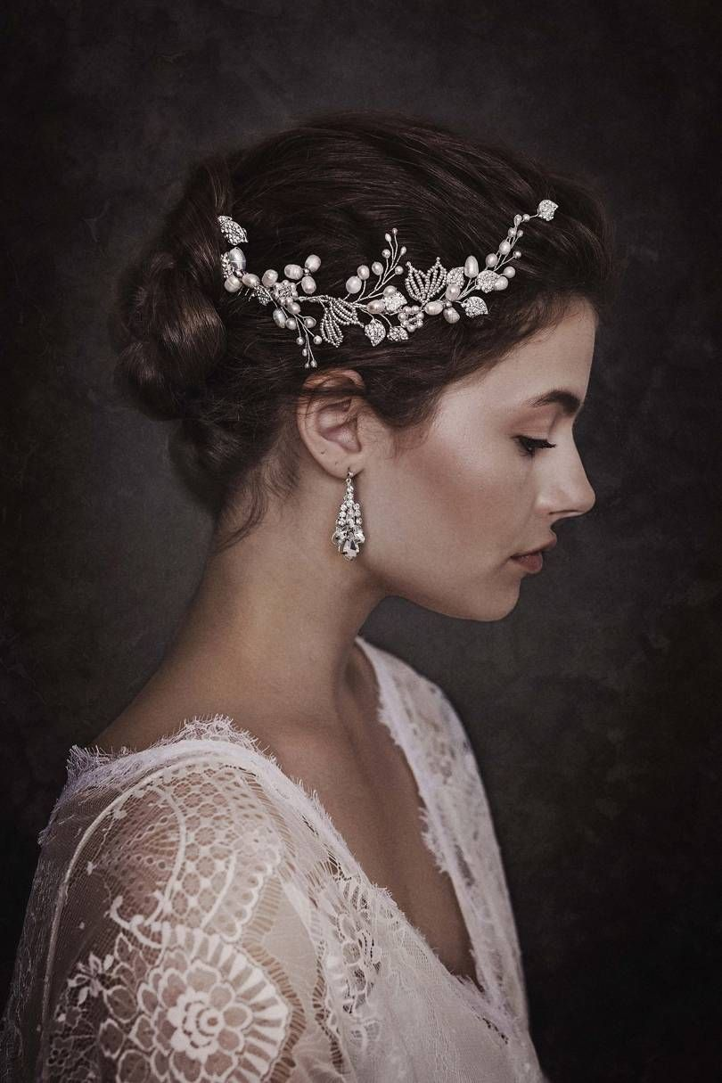 brides magazine on | in vogue hair nz | bridal hair, wedding