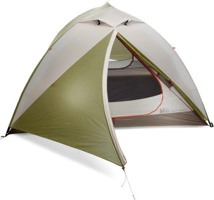 Lightweight and weather worthy this sturdy 3-season tent offers many comfortable touches for  sc 1 st  Pinterest & REI Co-op Half Dome 4 Tent Applemint | Tents and Camping stuff